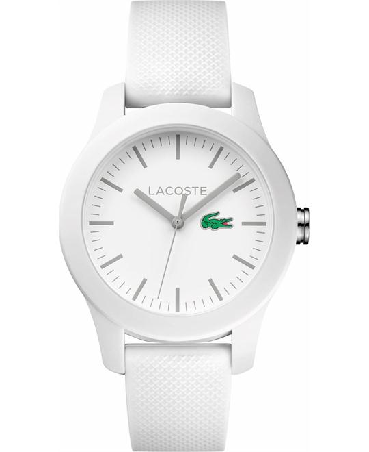 Lacoste Quartz Resin and Silicone Watch 38mm