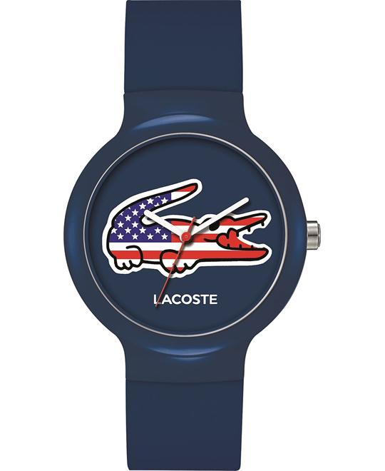 Lacoste Unisex Blue Silicone Watch 40mm