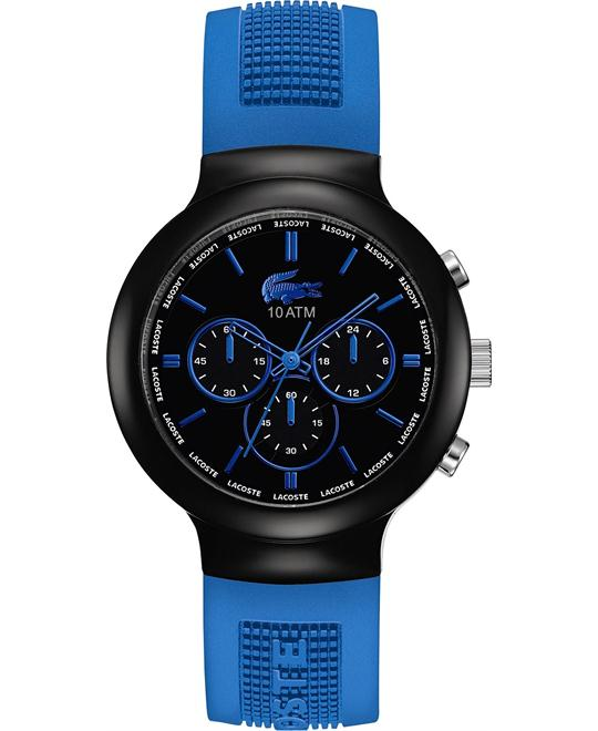 Lacoste Watch, Men's Chronograph - Blue Silicone 44mm