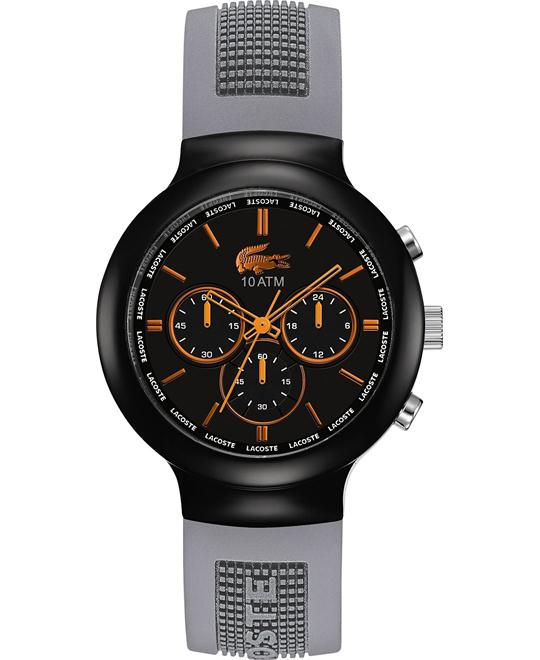 Lacoste Watch, Men's Chronograph Silicone 44mm