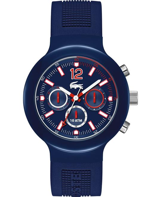 Lacoste Watch, Men's Chronograph-Silicone 44mm
