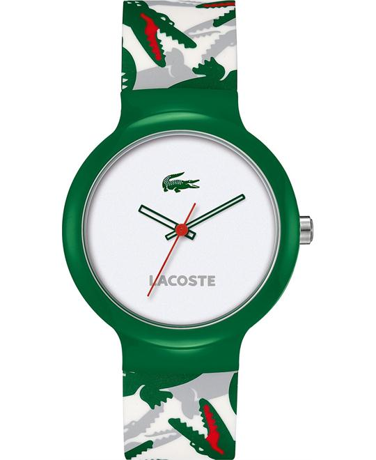 Lacoste Watch, Unisex Goa Multi-Color Silicone 40mm