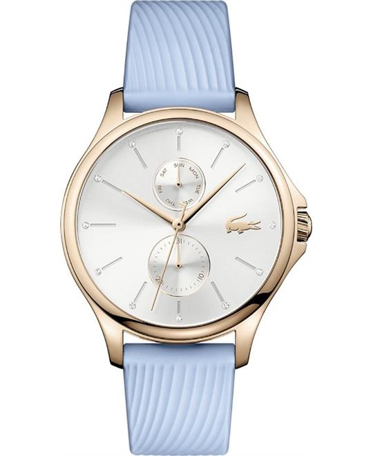 Lacoste Women's Blue Silicone Watch 38mm