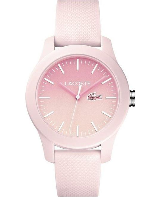 Lacoste Women's Quartz Resin and Silicone Casual Watch 37mm