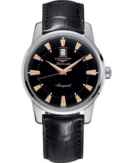 Longines Conquest L1.645.4.52.4 Heritage Watch 40mm