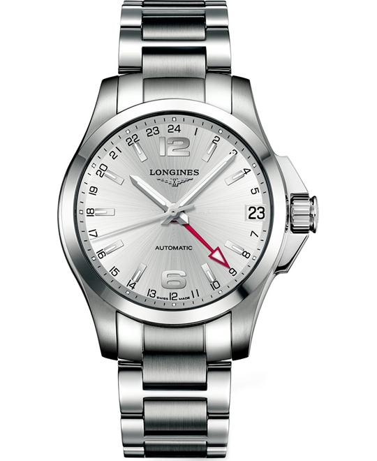 LONGINES Conquest Auto L3.687.4.76.6 Watch 41mm