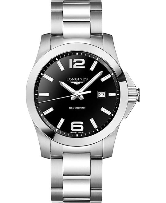 Longines Conquest L3.760.4.56.6 Watch 43mm