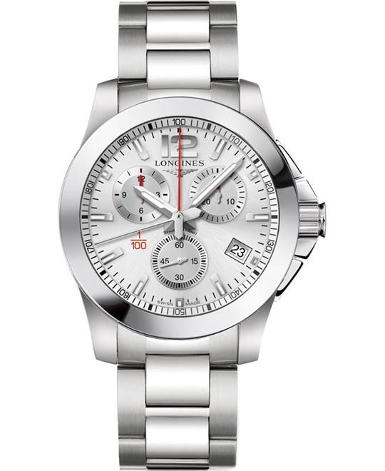 LONGINES Conquest Racing L3.700.4.76.6 Watch 41mm