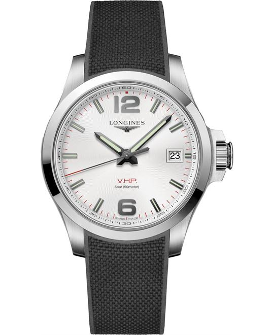 Longines Conquest V.H.P. L3.716.4.76.9 Watch 41mm