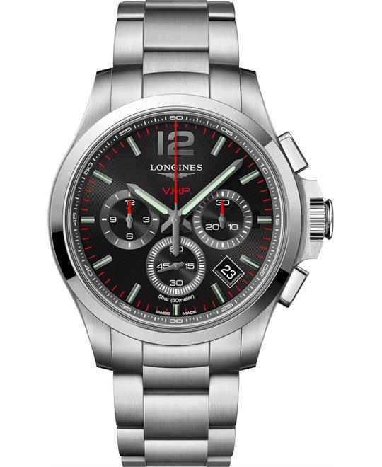 đồng hồ nam Longines Conquest V.H.P L3.717.4.56.6 Watch 42mm