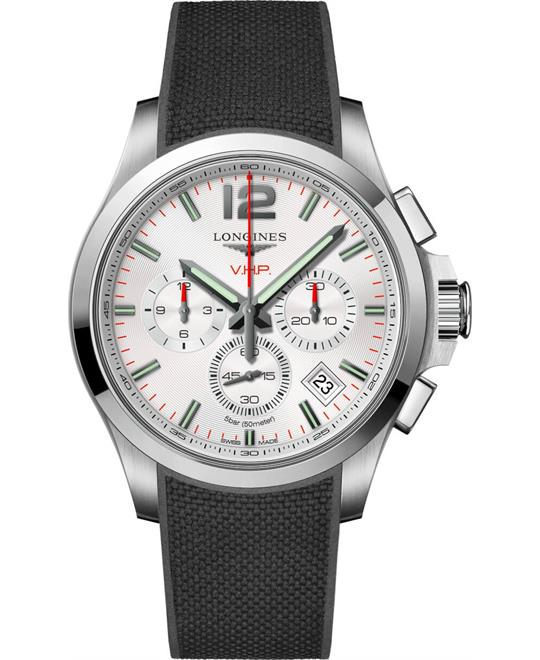 đồng hồ Longines Conquest L3.717.4.76.9 V.H.P 42mm
