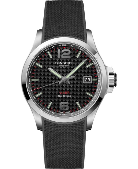 Longines Conquest V.H.P. L3.726.4.66.9 Watch 43mm