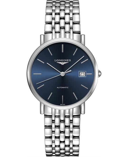 đồng hồ Longines Elegant L4.810.4.92.6 Blue Dial Watch 37mm
