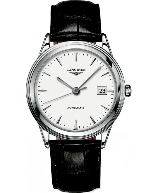 Longines L4.874.4.12.2 Flagship Automatic Watch 38.5mm