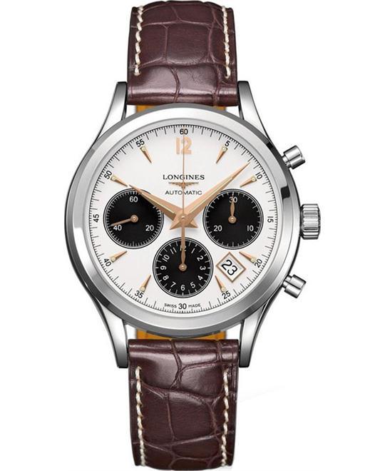 đồng hồ Longines Heritage L2.742.4.02.2 Watch 39mm