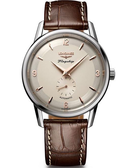 đồng hồ LONGINES Flagship Heritage L4.817.4.76.2 Watch 38mm