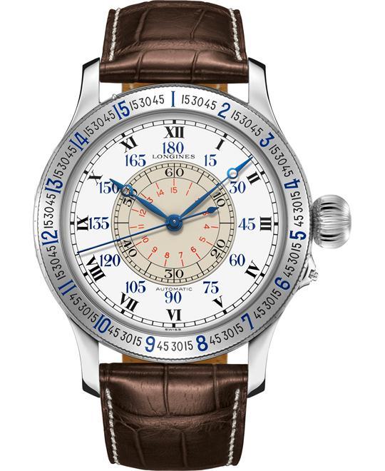 đồng hồ Longines Heritage L2.678.4.11.0 Lindbergh Hour 47.5mm