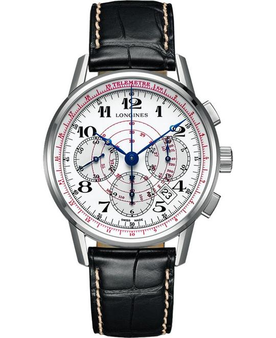 Longines Heritage L2.780.4.18.2 Automatic Watch 41mm