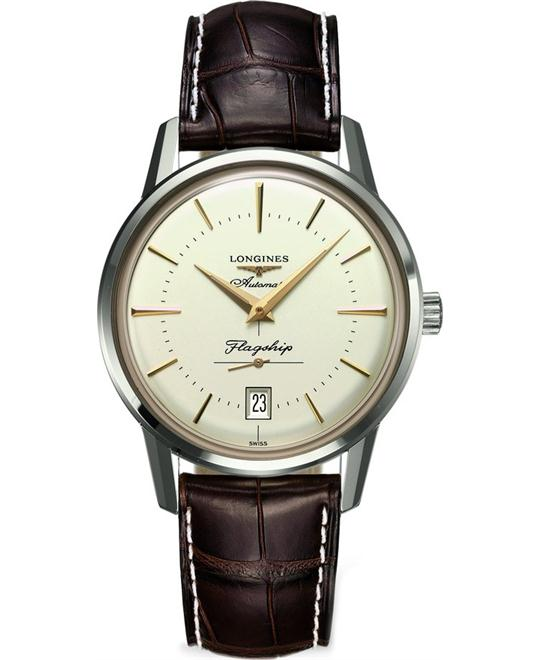 Longines Heritage Flagship L4.795.4.78.2 Watch 38.5mm