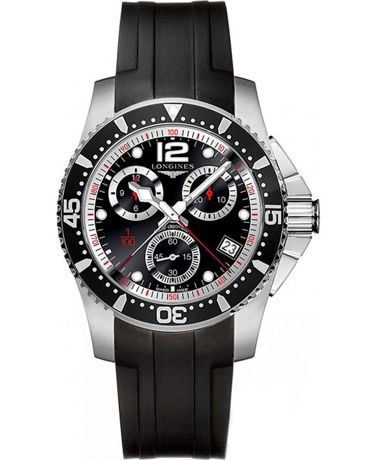 Longines Hydro Conquest L3.743.4.56.2 Watch 41mm
