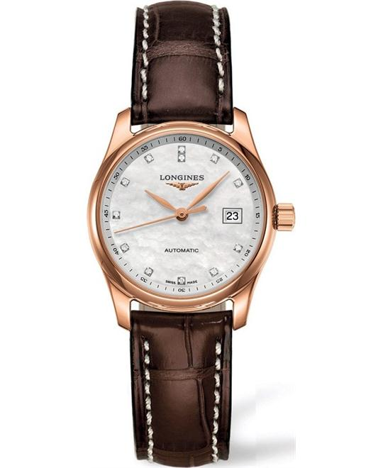 đồng hồ nữ automatic Longines Master L2.257.8.87.3 Watch 29mm
