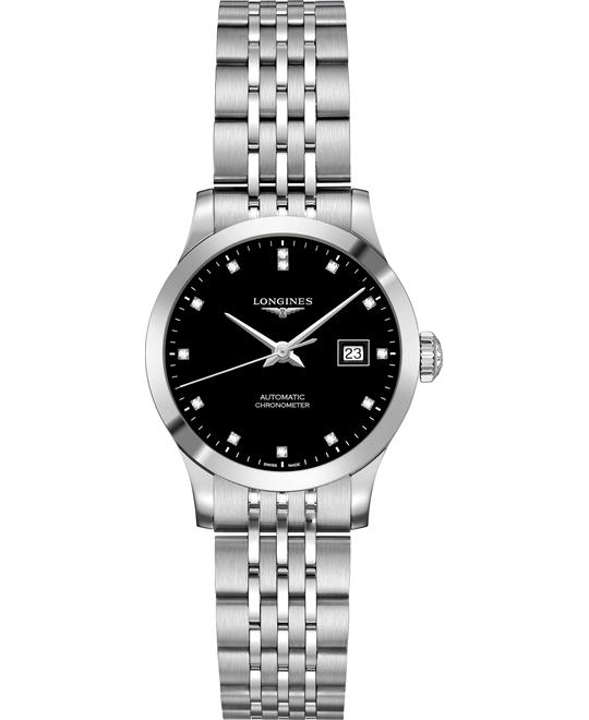 dong ho Longines Record L2.321.4.57.6 Watch 30mm