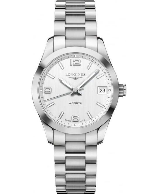 đồng hồ nữ Longines Conquest Classic L2.385.4.76.6 Watch 34mm