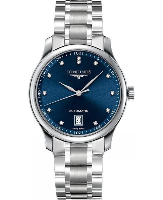 đồng hồ nam automatic Longines Master L2.628.4.97.6 Watch 38.5mm