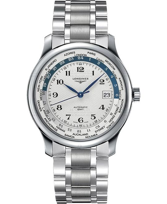 Longines Master Worldtime L2.631.4.70.6 Watch 38.5mm