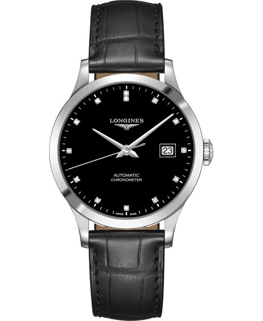 Longines L2.820.4.57.2 Record Watch 38.5mm