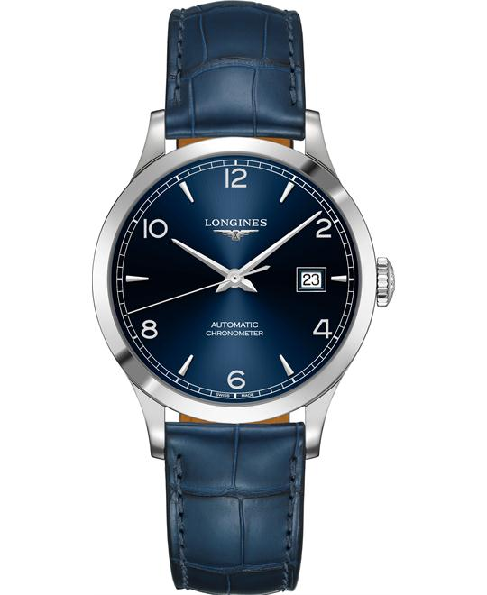 Longines L2.820.4.96.2 Record Watch 38.5mm