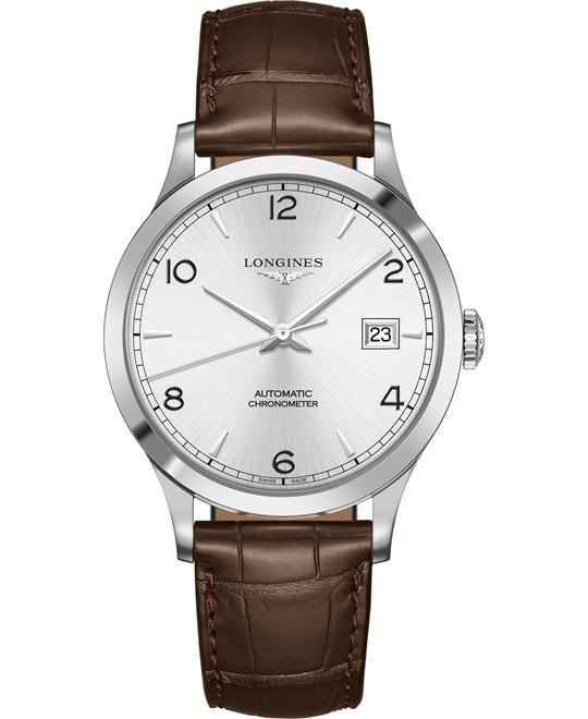 Longines L2.821.4.76.2 Record Watch 40mm