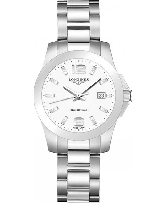 Longines Conquest L3.377.4.16.6 Watch 34mm