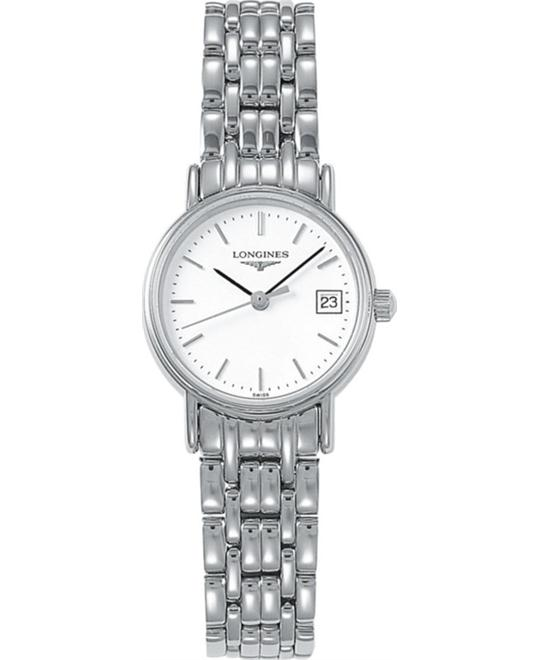 Longines Presence L4.319.4.12.6 Watch 23.5mm