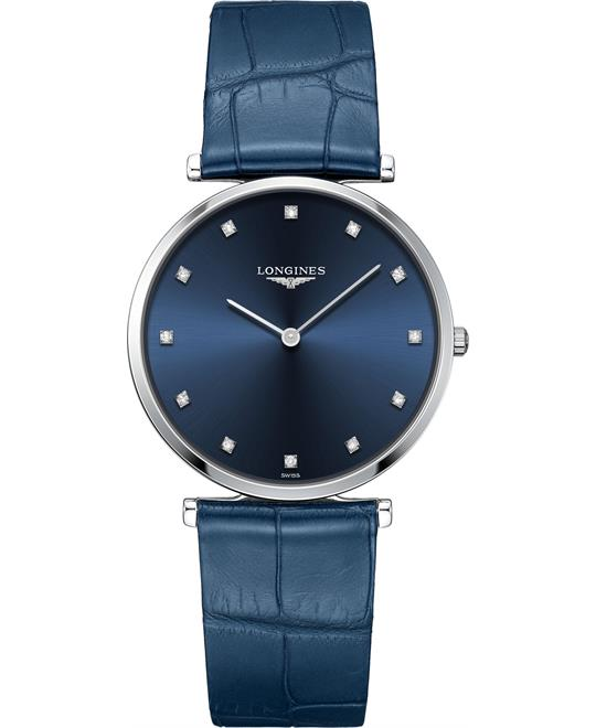 dong ho Longines La Grande L4.755.4.97.2 Classique Watch 36mm