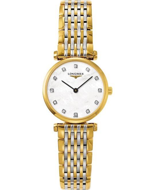 đồng hồ nữ LONGINES La Grande L4.209.2.87.7 Diamond Watch 24mm