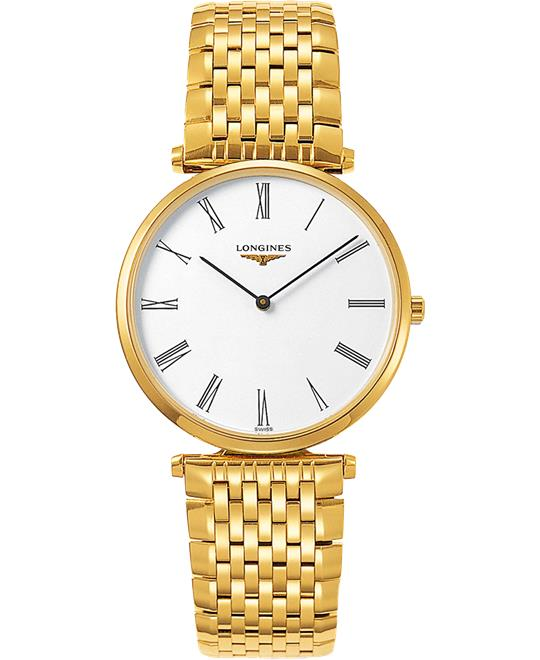 Longines La Grande L4.755.2.11.8 Watch 36mm