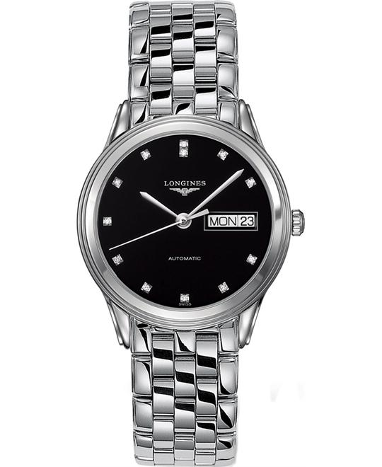 LONGINES L4.799.4.57.6 Flagship Automatic Watch 35.6mm
