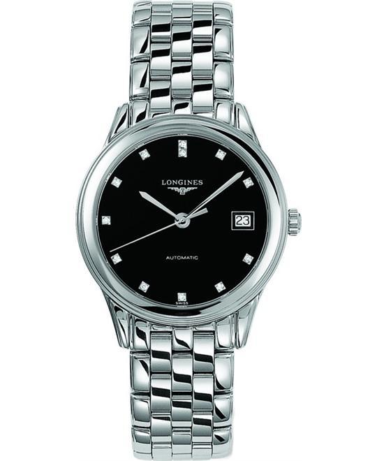 đồng hồ nữ Longines Flagship L4.774.4.57.6 Diamond 36mm