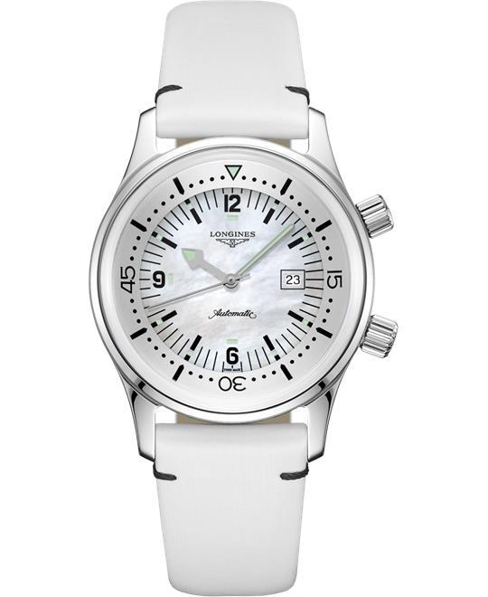 đồng hồ lặn nữ Longines Legend L3.374.4.80.0 Diver Watch 36mm