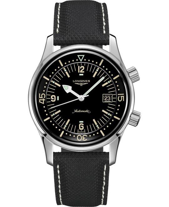 Longines Legend L3.774.4.50.0 Diver Automatic Watch 42mm