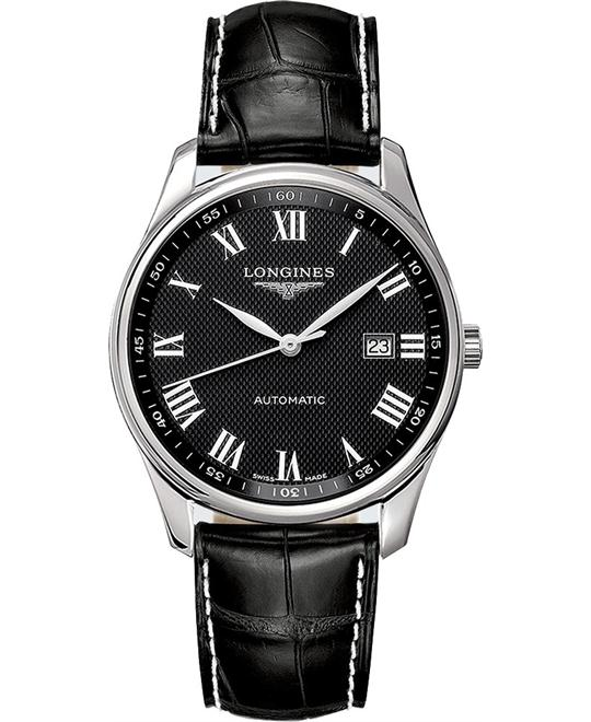 LONGINES L2.893.4.51.7 Master Automatic Watch 42mm