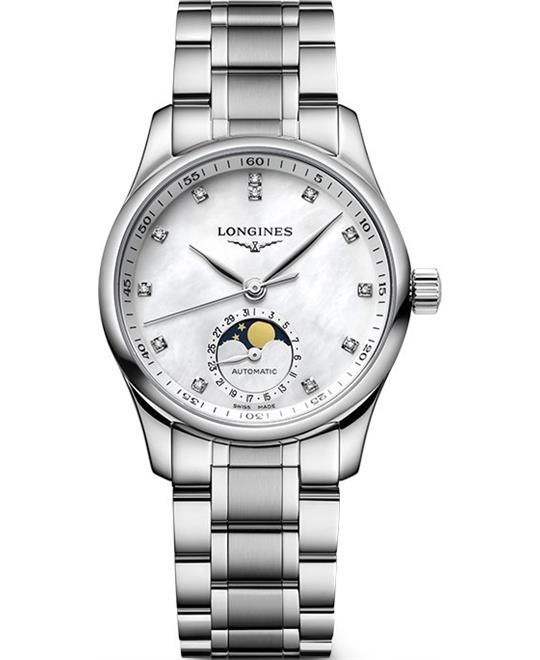 dong ho Longines Master L2.409.4.87.6 Collection Watch 34mm