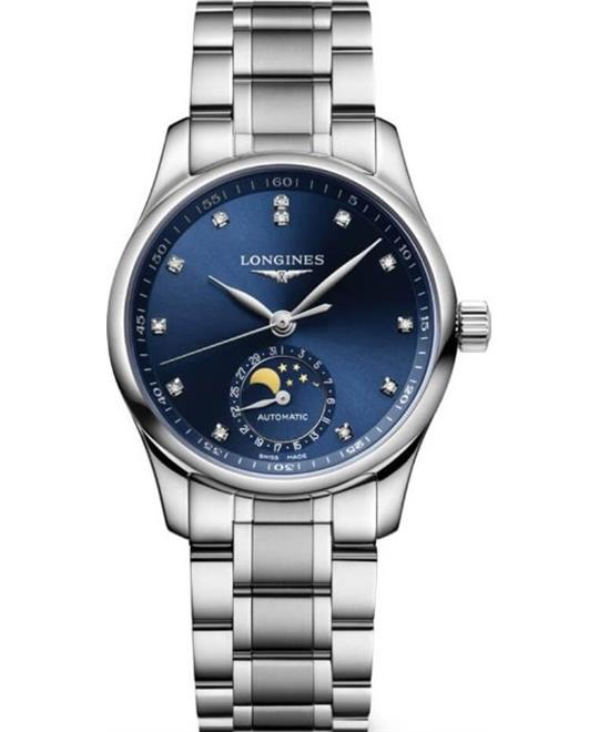 dong ho Longines Master L2.409.4.97.6 Collection Watch 34mm