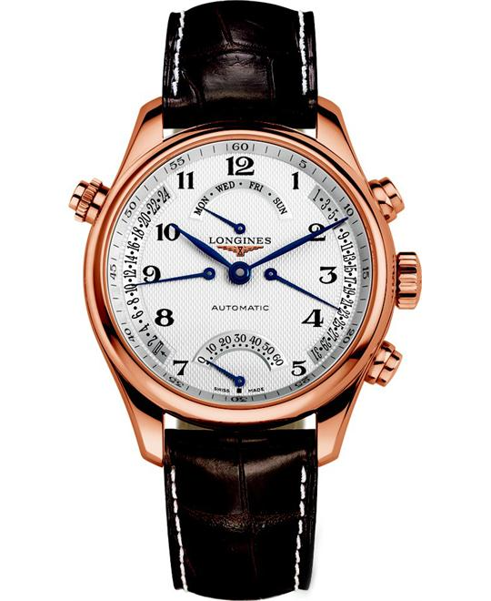 đồng hồ Longines Master L2.715.8.78.3 Retrograde Watch 41mm