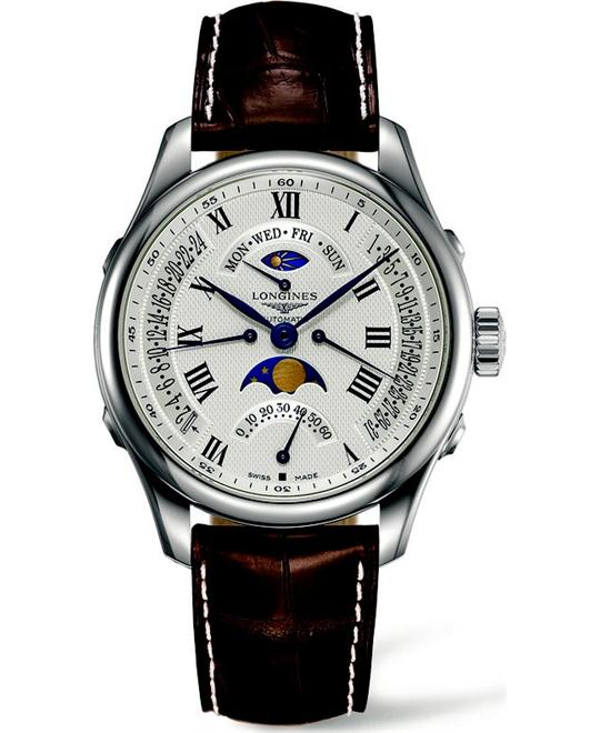Longines Master L2.738.4.71.3 Moonphase Watch 41mm