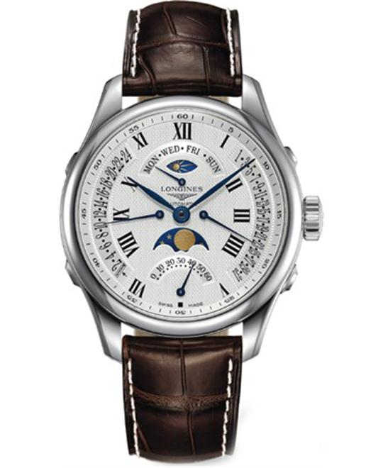 Longines Master L2.738.4.71.3 Automatic Watch 41mm