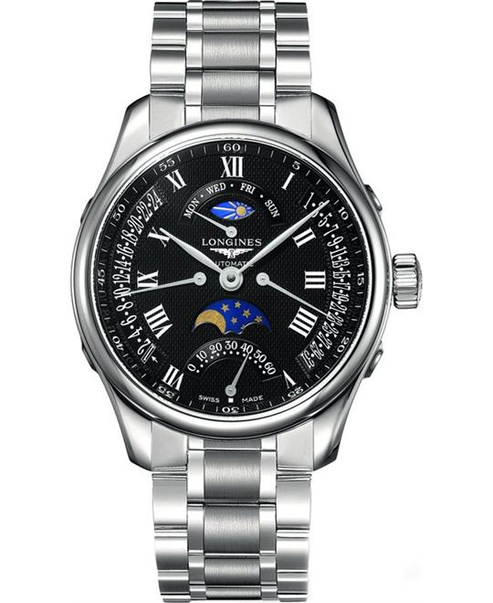 Longines Master L2.739.4.51.6 Seconds Watch 44mm