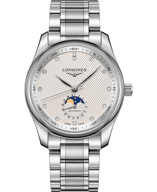 dong ho Longines Master L2.909.4.77.6 Moonphase 40mm