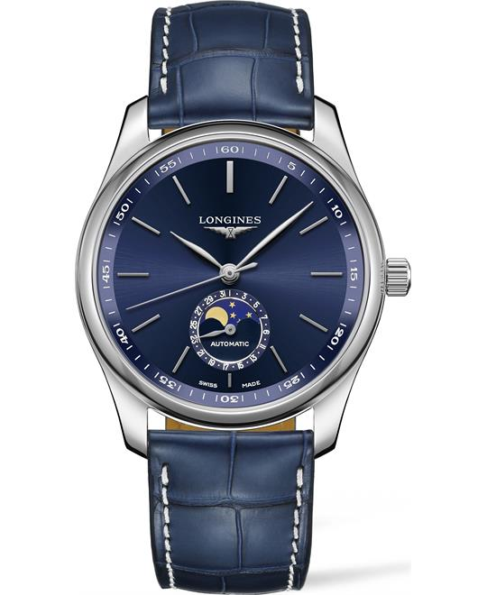 đồng hồ Longines Master L2.909.4.92.0 Moonphase Watch 40mm